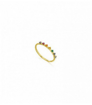 ANILLO RAINBOW TOPACIOS MULTICOLOR