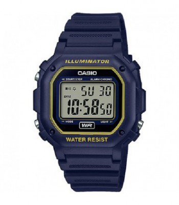 CASIO DIGITAL AZUL F-108WH-2A2EF